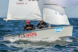 , Travemünder Woche 20. - 29.07.2018, Vaurien - ESP 63 - Zas Sailing Locura - Francesco ZAMPACAVALLO -  - RCN Valencia -  -