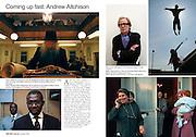 The Royal Photographis Society Journal, Portfolio spread.
