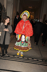 GRAYSON PERRY at a reception to celebrate the opening of 'Magnificence Of The Tsars' the new exhibition at the V&A held on 9th December 2008.