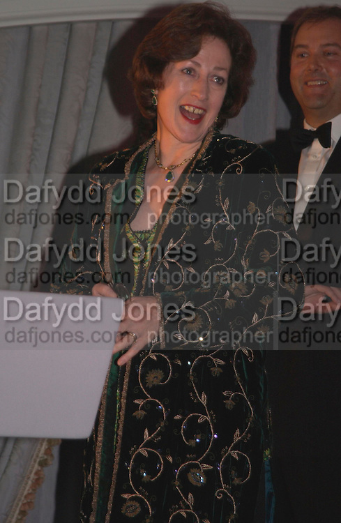 Lady Legard, The 2004 Cartier Racing awards, Four Seasons Hotel. London. 17 November 2004. ONE TIME USE ONLY - DO NOT ARCHIVE  © Copyright Photograph by Dafydd Jones 66 Stockwell Park Rd. London SW9 0DA Tel 020 7733 0108 www.dafjones.com