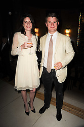 PADDY MAGAN and LADY LAURA CATHCART at The inaugural Quintessentially Awards held at the Freemason's Hall, Covent Garden, London on 1st June 2010.