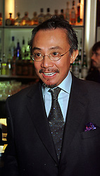 Multi millionaire Hong Kong businessman, MR DAVID TANG at a party in London on 12th October 1999.MXM 11