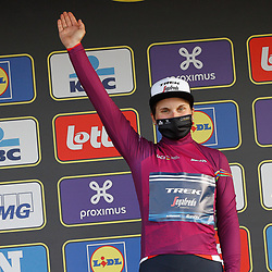 04-04-2021: Wielrennen: Ronde van Vlaanderen (Vrouwen): Oudenaarde<br />Elisa Longo Borhini is de nieuwe leidster in de Worldtour