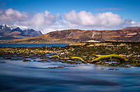SCOTLAND - CIRCA APRIL 2016: Countryside landscape in Skye an Island in Scotland