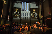 FRANCES MORRIS OPENING SPEECH, New Tate Modern opening party, Bankside. London. 16 June 2016