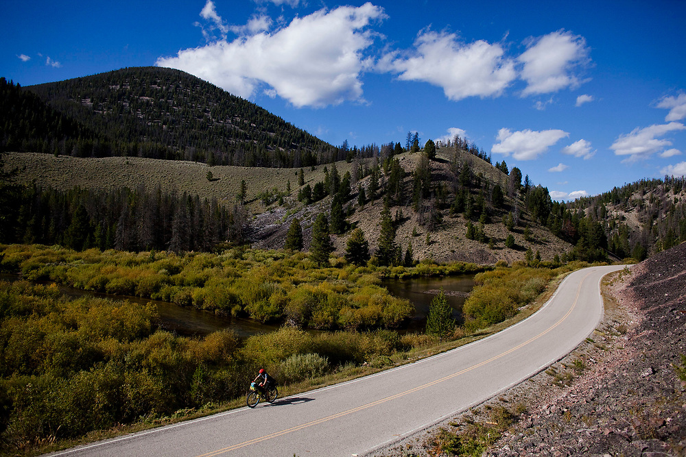 Scenes from the Great Divide Mountain Bike Route in 2014