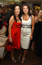 Left to right, NANCY DELL'OLIO and ELLA KRASNER at a party to celebrate the publication of 'The Russian House' by Ella Krasner held at De Beers, 50 Old Bond Street, London W1 on 9th June 2005.<br /><br />NON EXCLUSIVE - WORLD RIGHTS