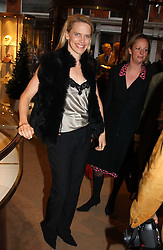 ANNA WALKER at a party to celebrate the publication of 'Last Voyage of The Valentina' by Santa Montefiore at Asprey, 169 New Bond Street, London W1 on 12th April 2005.<br /><br />NON EXCLUSIVE - WORLD RIGHTS