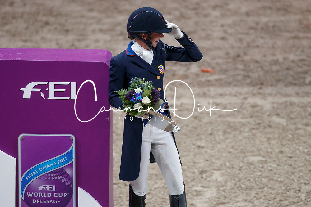 Graves Laura, USA<br /> Grand Prix Freestyle<br /> FEI World Cup Dressage Final, Omaha 2017 <br /> © Hippo Foto - Dirk Caremans<br /> 01/04/2017