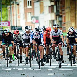 LIPPERT Liane ( GER ) – TEAM SUNWEB ( SUN ) - NED – Querformat - quer - horizontal - Landscape - Event/Veranstaltung: Liège Bastogne Liège - Category/Kategorie: Cycling - Road Cycling - Elite Women - Elite Men - Location/Ort: Europe – Belgium - Wallonie - Liège - Start: Bastogne-Womens Race - Liège-Mens Race - Finish: Liège - Discipline: Road Cycling - Distance: 257 km - Mens Race - 135 km - Womens Race - Date/Datum: 04.10.2020 – Sunday - Photographer: © Arne Mill - frontalvision.com