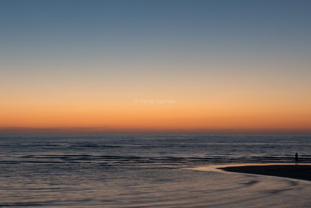 Sunrise over the Sea of Cortez.