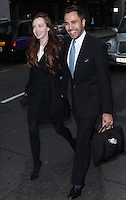 Olivia Grant & Diego Bivero-Volpe spotted in Mayfair, London UK, 29 May 2014, Photo by Brett. Cove