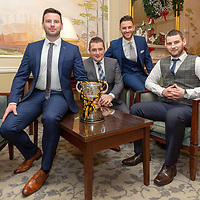 Ballyea's Management Team Barry Coffey, Kevin Sheehan, Mike O'Neill and Kieran Connolly