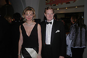 The earl and Countess of Derby. Dinner to unveil the Van Cleef & Arpels jewellery collection 'Couture' with fashion by Anouska Hempel Couture. The Banqueting House, Whitehall Palace, London on 8th March 2005.ONE TIME USE ONLY - DO NOT ARCHIVE  © Copyright Photograph by Dafydd Jones 66 Stockwell Park Rd. London SW9 0DA Tel 020 7733 0108 www.dafjones.com