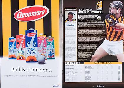 All Ireland Senior Hurling Championship Final,.03.09.2006, 09.03.2006, 3rd September 2006,.Senior Kilkenny 1-16, Cork 1-13,.Minor Tipperary 2-18, Galway 2-7.3092006AISHCF,.Avonmore, .Jackie Tyrell, Kilkenny Captain,