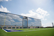 """The Dallas Cowboys practice fields and headquarters in Frisco, Texas on August 23, 2016. """"CREDIT: Cooper Neill for The Wall Street Journal""""<br /> TX HS Football sponsorships"""