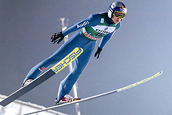 February 8, 2019 - Lahti, Finland - Andreas Wellinger competes during FIS Ski Jumping World Cup Large Hill Individual Qualification at Lahti Ski Games in Lahti, Finland on 8 February 2019. (Credit Image: © Antti Yrjonen/NurPhoto via ZUMA Press)