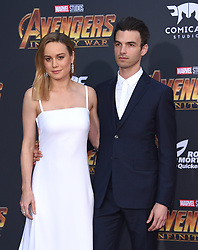 """World premiere of """"Avengers: Infinity War"""" held at the El Capitan Theatre on April 23, 2018 in Hollywood, CA. © O'Connor/AFF-USA.com. 23 Apr 2018 Pictured: Brie Larson and Alex Greenwald. Photo credit: O'Connor/AFF-USA.com / MEGA TheMegaAgency.com +1 888 505 6342"""
