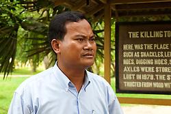 Nhim Chantheng, Guide At 3Choeung Ek