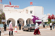 Tataouine hospital, Tunisia. Where many operations on injured Libyan fighters take place.