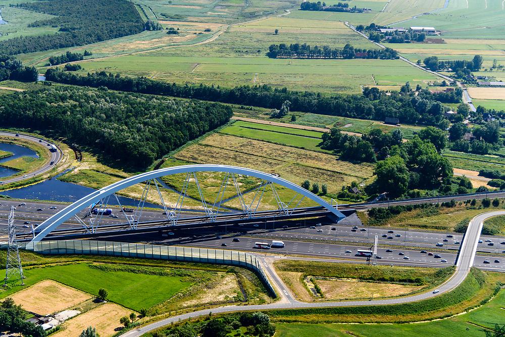 Nederland, Noord-Holland, Amsterdam,  29-06-2018;<br /> <br /> QQQ<br /> luchtfoto (toeslag op standard tarieven);<br /> aerial photo (additional fee required);<br /> copyright foto/photo Siebe Swart