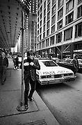 U2  - Bono's day off - USA tour photosessions in Chicago - December 1981
