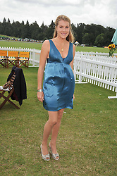 The HON.ELIZA PEARSON at the 2009 Veuve Clicquot Gold Cup Polo final at Cowdray Park Polo Club, Midhurst, West Sussex on 19th July 2009.