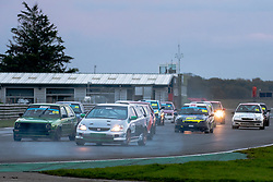Trevor Collar pictured while competing in the 750 Motor Club's Hot Hatch Championship. Picture taken at Snetterton on October 17, 2020 by 750 Motor Club photographer Jonathan Elsey