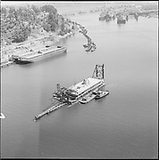 """ackroyd-P331-07 """"Going St. improvements. August 22, 1967"""" (entrance to Swan Island. note dredging)"""