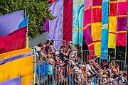 Henham Park, Suffolk, 21 July 2019. The obelisk arena. The 2019 Latitude Festival.