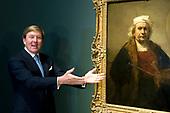 Koning Willem-Alexander opent in het Rijksmuseum Late Rembrandt