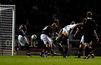 Photo: Joel Gosling.<br />Northampton Town v Bristol City. Coca Cola League 1. 29/08/2006. <br />City's Steve Booker score his side's second goal.