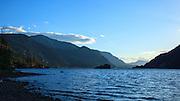 USA, Oregon, Columbia Gorge National Scenic Area, Viento State Park, family swimming.