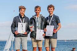 , LJM SH - Landesjüngsten- und Landesjugendmeisterschaft 01. - 02.09.2018, Siegerehrung - Laser 4.7
