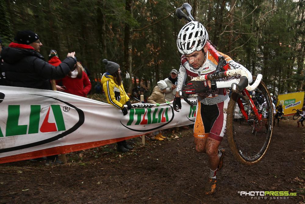 ITALY / ITALIE / FIUGGI / REGIO LAZIO / CYCLING / CYCLOCROSS / VELDRIJDEN / RADQUER / WORLD CUP #7 / WERELDBEKER #7 / COUPE DU MONDE #7 / 8TH MEMORIAL ROMANO SCOTTI / VERMEERSCH GIANNI (STEYLAERTS-VERONA) /