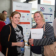 28/08/2015             <br /> Pharmaceutical Manufacturing Technology Centre (PMTC) Knowledge day at the Kemmy Business School, University of Limerick.    <br />   Pictured at the event were, Eleanor Shuttleworth, Hovione and Sharon Davin, APC Ltd. Picture: Alan Place