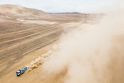 Eduard Nikolaev (RUS) of Team KAMAZ-Master races during stage 04 of Rally Dakar 2019 from Arequipa to o Tacna, Peru on January 10, 2019 // Marcelo Maragni/Red Bull Content Pool // AP-1Y39E9PWH1W11 // Usage for editorial use only // Please go to www.redbullcontentpool.com for further information. //
