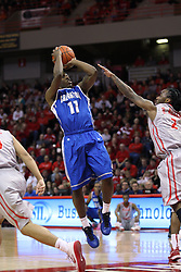 02 January 2013:  Andre Yates during an NCAA Missouri Vally Conference (MVC) mens basketball game between the Creighton University Bluejays and the Illinois State Redbirds in Redbird Arena, Normal IL
