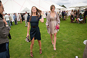 Amanda Crossley; Kate Sumner<br /> , Cartier International Polo Day at the Guards Polo Club. Windsor. July 26  2009