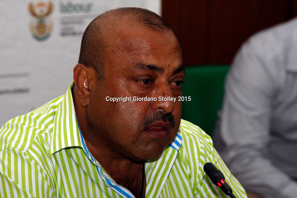 DURBAN - Controversial Durban business Jay Singh, whose company built the ill-fated Tongaat Mall that collapsed killing two people, testifies before the Department of Labour's commission of inquiry set up to investigate the tragedy. Picture: Allied Picture Press/APP