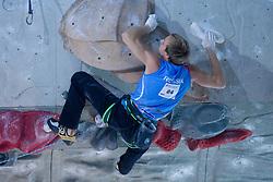 Climber Ivan Karunov (RUS) at World cup competition in Zlato polje, Kranj, Slovenia, on November 15, 2008.  (Photo by Vid Ponikvar / Sportida)