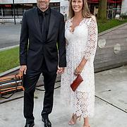 NLD/Hilversum//20170821 - Voetbalgala 2017, John van 't Schip en partner Danielle