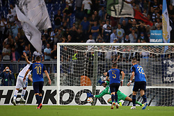 September 20, 2018 - Rome, Lazio, Italy - 20th September 2018, Stadio Olimpico, Rome, Italy; UEFA Europa League football, Lazio versus Apollon Limassol; Ciro immobile of Lazio scores a penalty in the 84th minute  Credit: Giampiero Sposito/Pacific Press (Credit Image: © Giampiero Sposito/Pacific Press via ZUMA Wire)