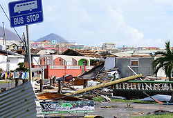 EXCLUSIVE: Hurricane Maria Leaves a trail of devastation in the caribbean island of Dominica. 21 Sep 2017 Pictured: Dominica - Hurricane Maria. Photo credit: Shanice King/246paps/MEGA TheMegaAgency.com +1 888 505 6342