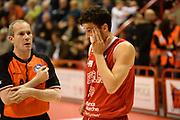 DESCRIZIONE : Pistoia Lega serie A 2013/14  Giorgio Tesi Group Pistoia Pesaro<br /> GIOCATORE : Amici Alessandro<br /> CATEGORIA : fallo <br /> SQUADRA : Pesaro Basket<br /> EVENTO : Campionato Lega Serie A 2013-2014<br /> GARA : Giorgio Tesi Group Pistoia Pesaro Basket<br /> DATA : 24/11/2013<br /> SPORT : Pallacanestro<br /> AUTORE : Agenzia Ciamillo-Castoria/M.Greco<br /> Galleria : Lega Seria A 2013-2014<br /> Fotonotizia : Pistoia  Lega serie A 2013/14 Giorgio  Tesi Group Pistoia Pesaro Basket<br /> Predefinita :