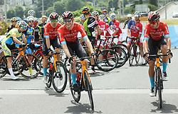 Jan Tratnik, Matej Mohoric and Domen Novak during Slovenian National Road Cycling Championships 2021, on June 20, 2021 in Koper / Capodistria, Slovenia. Photo by Vid Ponikvar / Sportida
