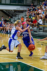 21 June 2014:  Laura Crane (13), 2014 Girls Illinois Basketball Coaches Association All Start game at the Shirk Center in Bloomington IL