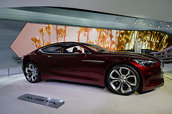 NEW YORK, USA - MARCH 23, 2016: Buick Avista concept car on display during the New York International Auto Show at the Jacob Javits Center.