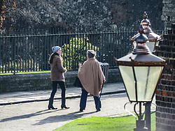 © Licensed to London News Pictures. 29/01/2019. Kent, UK. Come actresses Aisling Bea and Sorcha Cusack  take part in filming for a new sitcom titled Happy AF, written by  Aisling Bea. The comedy also stars and Sharon Horgan. Photo credit: Graham Long/LNP