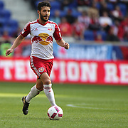 HARRISON, NEW JERSEY- OCTOBER 16:  Felipe Martins #8 of New York Red Bulls in action during the New York Red Bulls Vs Columbus Crew SC MLS regular season match at Red Bull Arena, on October 16, 2016 in Harrison, New Jersey. (Photo by Tim Clayton/Corbis via Getty Images)